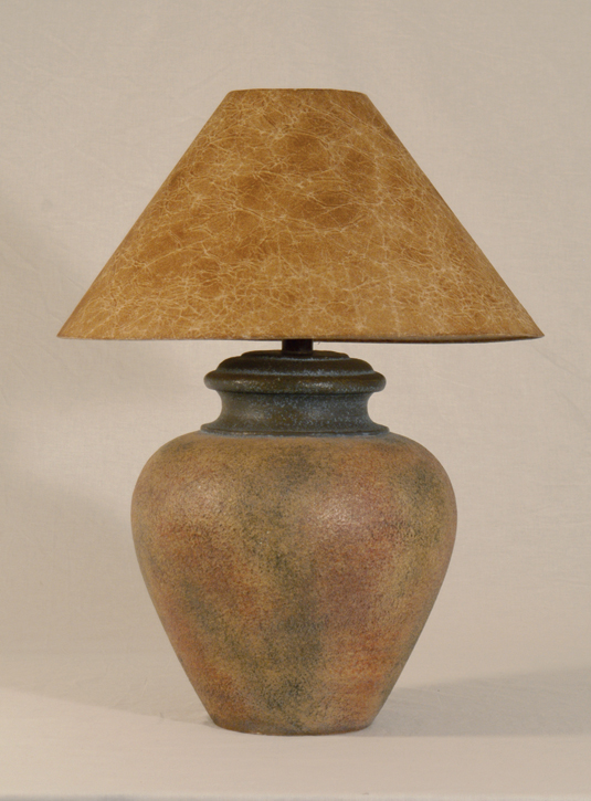 Ah 6011 Wd Southwestern Table Lamp Terracotta Finish