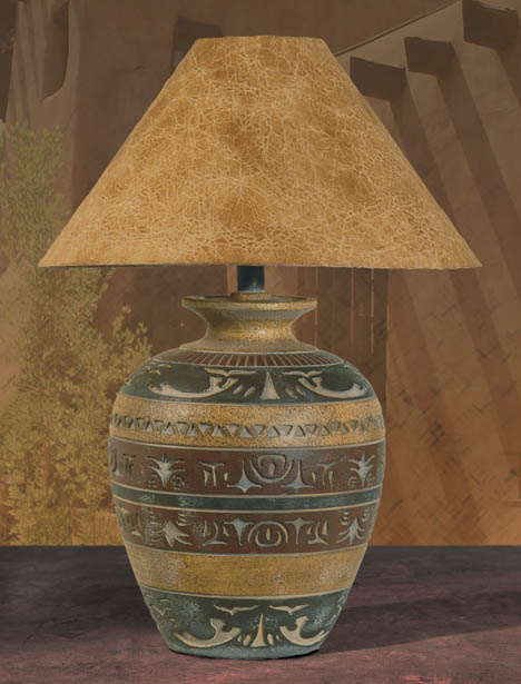 Southwest lamps southwestern style table floor lamps h 6023 hsl southwest style table lamp aloadofball Gallery