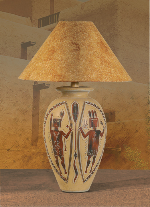 Southwest lamps ah 6196 southwest native american indian style lamp southwest table lamp h 6196 mozeypictures